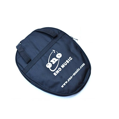 Muxico 1 PC 10 inch Practice Drum Dumb, Drum Holder Package,Black