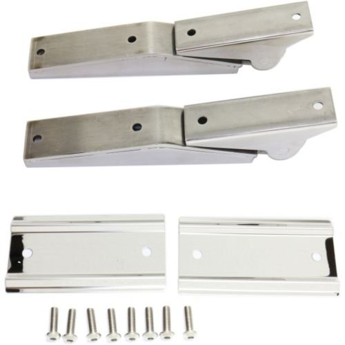 MAPM Premium WRANGLER 97-06 TAILGATE HINGE, Tailgate Hinges, Stainless by Make Auto Parts Manufacturing