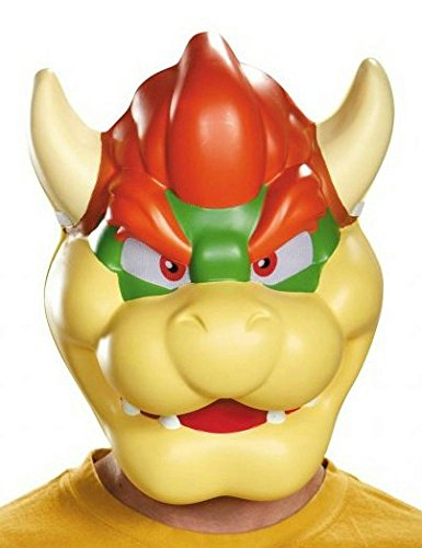 Disguise Men's Bowser Costume Mask - Adult, Multi, One -