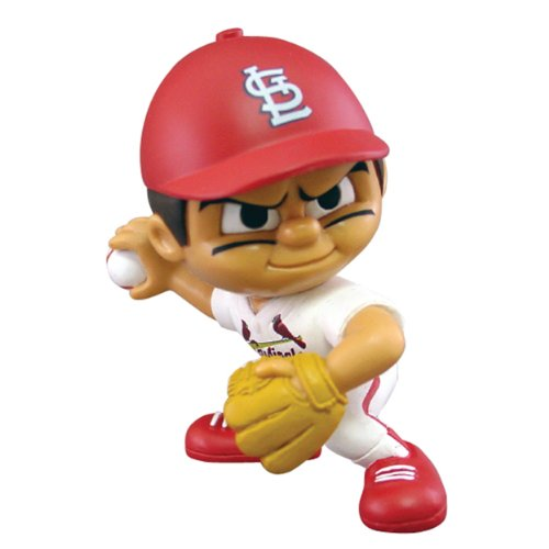 Party Animal Toys Lil' Teammates St. Louis Cardinals Pitcher MLB Figurines ()