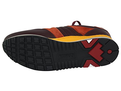 Bally Ascar Kalfsleer Sneaker Granaat