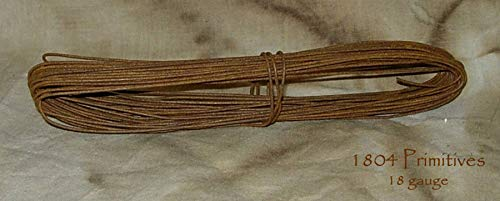 2 Coils - 18 Gauge Primitive Rusty Tin Wire - 72 ft Total - Crafts