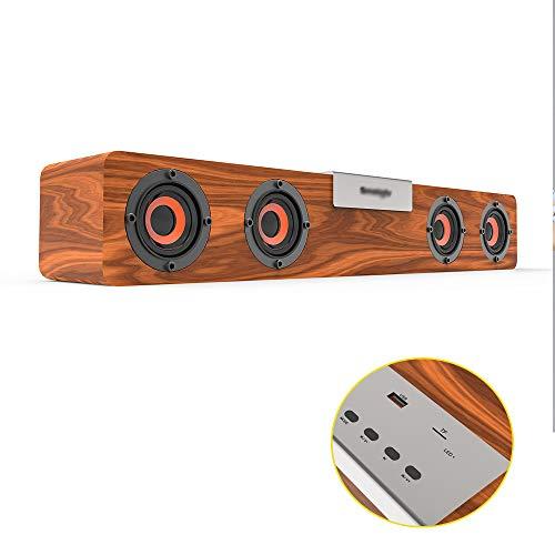 LH Altavoces Bluetooth, 10,5-Metro 5. 0 TWS Puede conectar Dos Altavoces al Mismo Tiempo USB MP3 u Disco de Apoyo TF Tarjeta...