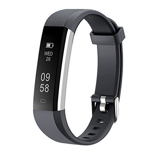 LETSCOM Fitness Tracker, Activity Tracker, IP67 Water Resistant Smart Bracelet as Step Counter, Sleep Monitor, Pedometer, Calorie Counter Watch for Kids Women Men