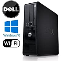 Dell Optiplex SFF - Intel Core 2 Duo 3.33GHz, 4GB RAM DDR3, 1TB HDD, Windows 10 Pro 64-Bit, WiFi, DVD-ROM (Prepared by ReCircuit)