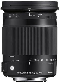 Sigma 18 300 Mm F3 5 6 3 Dc Macro Os Hsm Objektiv Slr Kamera