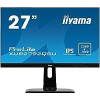 iiyama ProLite XUB2792QSU-B1 27 2K Ultra HD IPS Matt Black computer monitor LED display