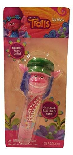 - Trolls Finger Puppet Strawberry Flavored Lip Gloss