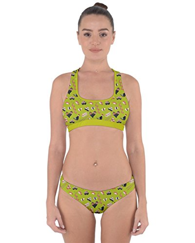 CowCow - Conjunto - para mujer Green Olive 2