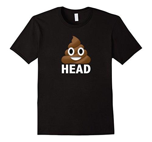 Men's Poop Emoji T Shirt Poop Head Shirt Poop Emoji Funny XL (Mens Fun Dip Costumes)