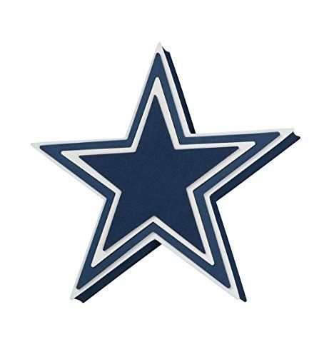 Licensed Dallas Cowboys Star - Foam Fanatics NFL Dallas Cowboys 3D Foam Star Wall Sign
