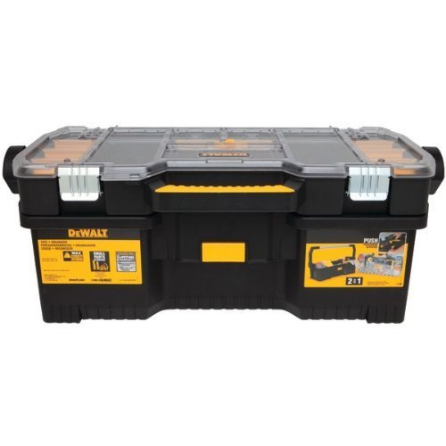 DEWALT DWST24075R Tote with Removable - Tool Inch 24 Box