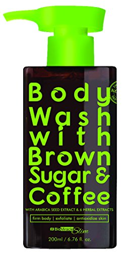 Biomiracle Coffee and Brown Sugar Body Wash Gel | Rich Antioxidant Boost | Stimulates Firmer Skin