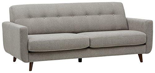 Rivet Sloane Mid-Century Modern Sofa with Tufted Back, 79.9\
