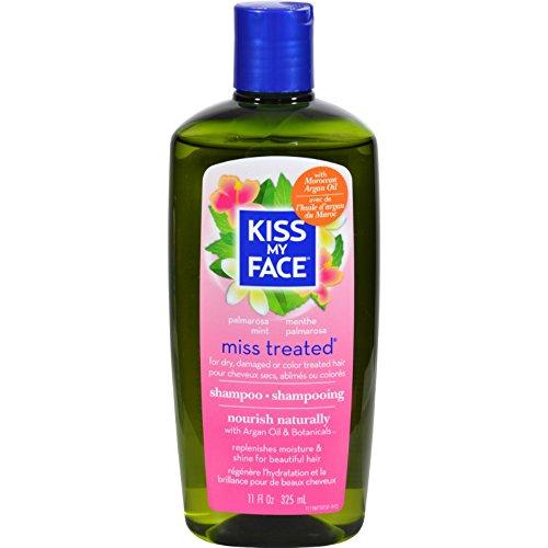 Kiss My Face Miss Treated Moroccan Argan Oil Shampoo (Palmarosa Mint,...