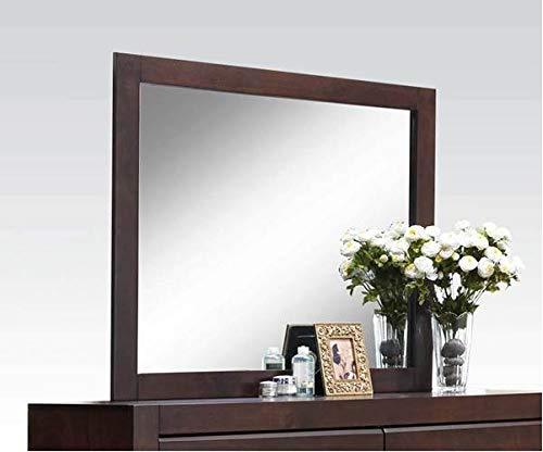 Acme Furniture 25794 Oberreit Mirror, Walnut