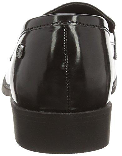 black sintético 01 Schwarz Blink de Zapatillas material de casa mujer BmaluL negro wqPvxYSqB