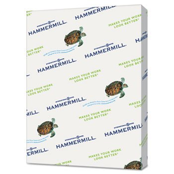 Recycled Colored Paper, 20lb, 8-1/2 X 11, Salmon, 5000 Sheets/Carton by Hammermill (Image #1)