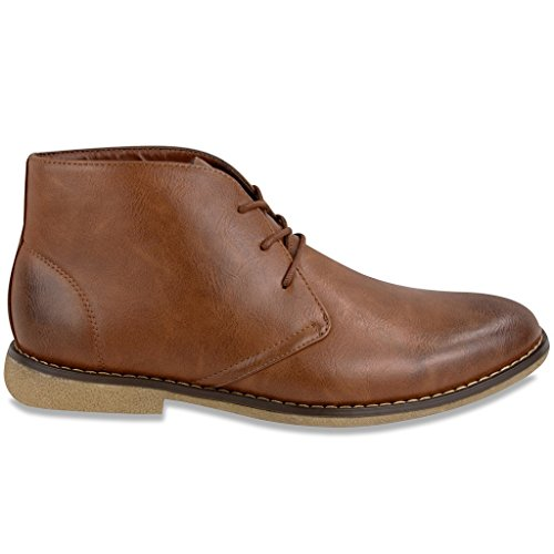 London Fog Mens Broadstreet Chukka Boot Tan 12 M US