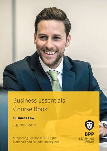 Business Essentials Business Law: Study Text