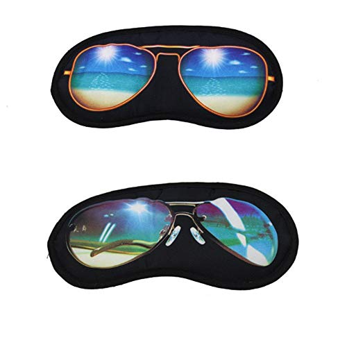 Sleep Sunglasses Shade Eye Cover Rest Eye mask Travel Sleeping Aid Fatigue Relieve Male and Female Models ()