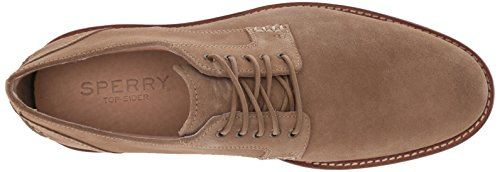 Sperry Top-sider Mens Annapolis Plaine Toe Suede Oxford Tan Suede