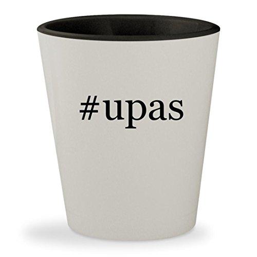 Price comparison product image #upas - Hashtag White Outer & Black Inner Ceramic 1.5oz Shot Glass
