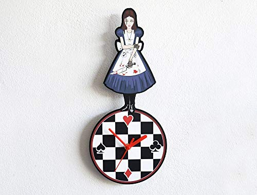 Alice in Wonderland Madness Returns - Wall Clock