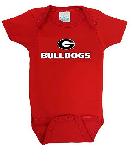 georgia bulldogs baby bib - 4