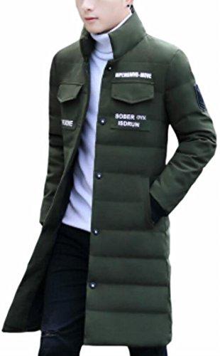 Lungo 1 Stand Uomini Outwear Giù Degli Cappotto Puffer Caldo Inverno Collare Oggi uk IHCwq7H