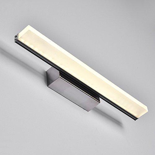 QAZ Badezimmerspiegel Beleuchtung LED-Spiegel Licht, Badezimmer Badezimmer Spiegel Leuchten Make-up-Leuchten Moderne, einfache Wasserdichte Nebel Spiegelschrank Licht