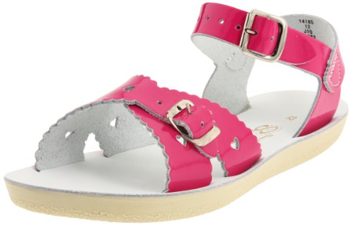 Salt Water Sandals by Hoy Shoe Sweetheart,Shiny Fuschia,2 M US Big ()