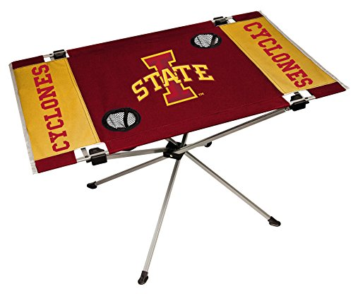 State Tailgate Table - Rawlings NCAA Iowa State Cyclones NCAA Endzone Tailgate Table, Red, 31.5
