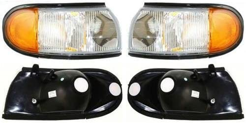 Replacement Front Corner Park Lights Left /& Right Holiday Rambler Vacationer 1996-2000 RV Motorhome Pair