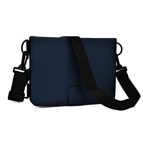 Samsung Galaxy Tab 3 7.0 (T211 / T215) case, COOPER MAGIC CARRY Travel Carrying Case Protective Tablet Cover Folio with Handle, Shoulder Strap, Stylus Holder and Built-in Stand (Blue)