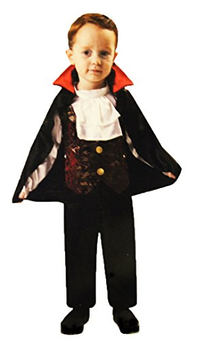 Totally Ghoul Lil' Vampire Halloween Costume NWT 2-4 Years Vampire Costume (Lil Vampire Costume)