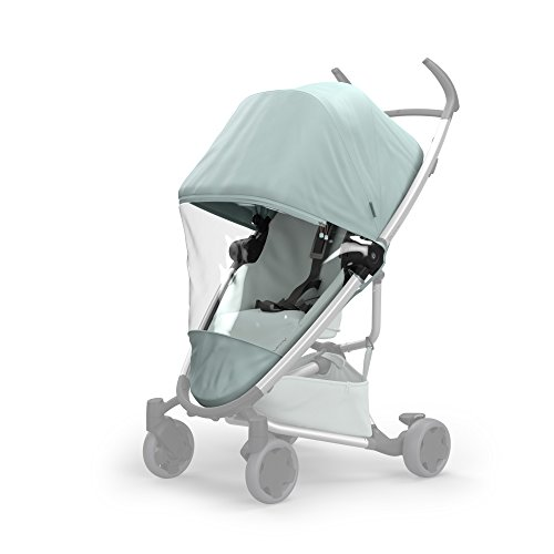 Quinny Rain Cover for Zapp Flex Strollers, Frost