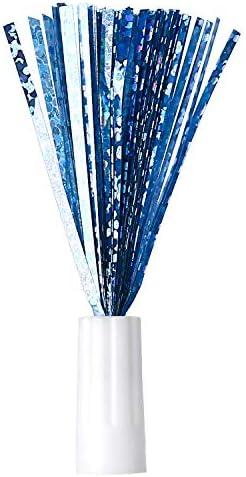 HAPPY HACHI 3 Remplacement des Plumes pour Jouet Chat à Plume (Rouge/Bleu/Gris)