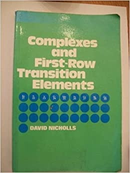 Book Complexes and First-row Transition Elements
