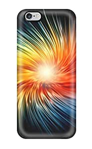 Durable Funky Colorful Spiral Back Case/cover For Iphone 6 Plus