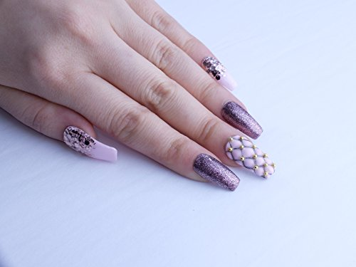 Royal Pillow Custom Press on Nails by Unicornails