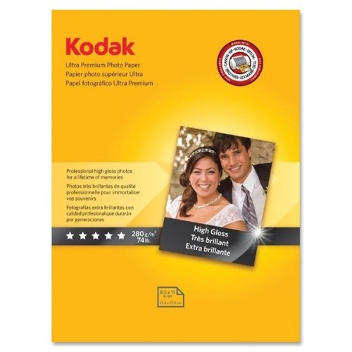 Ultra Premium Photo Paper Letter - Kodak Ultra Premium Photo Paper - Letter - 8.5