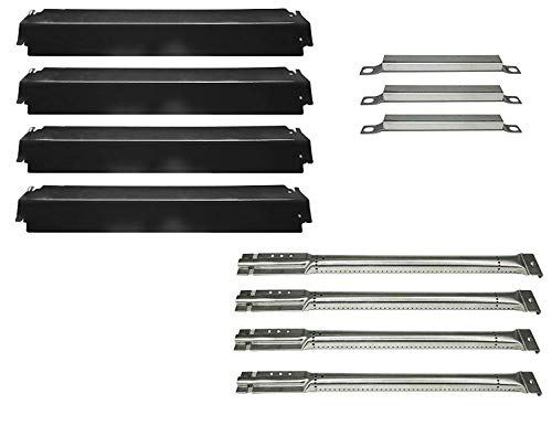DOZYANT Parts Kit Replacement Charbroil Gas Grill Burners, Heat Plates and Crossover Tubes