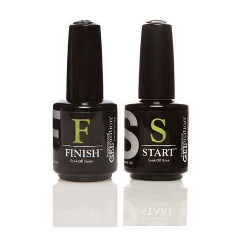 Jessica GELeration Soak-off BASE & TOP Sealer (START & FINISH) 0.5oz/15ml DUO