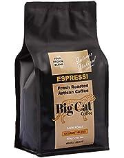 Boost Foodz - 500g 'Big Cat Coffee' - Espressi - Artisan Fresh Roasted - Whole Beans - Gourmet Italian Blend - Dark Roast - Australian Made