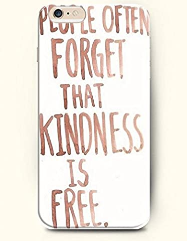 People Often Forget That Kindness Is Free Phone Case Custom Well-designed Hard Case Cover Protector For Iphone 5 (Nokia 6233 Case)