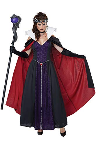 California Costumes Women's Evil Storybook Queen - Adult Costume Adult Costume, -black/Purple, Medium (Snow White And The Evil Queen Costume)