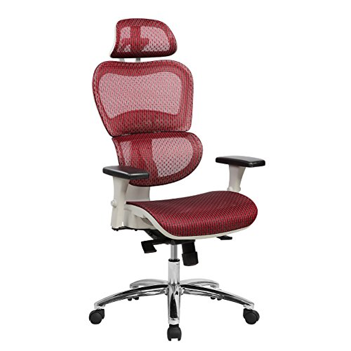 Techni Mobili RTA-5003-RED Office Chair, Red -