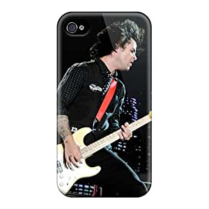 AlainTanielian Iphone 4/4s Shock-Absorbing Hard Cell-phone Cases Support Personal Customs HD Green Day Band Pictures [mfT17152SeWU]