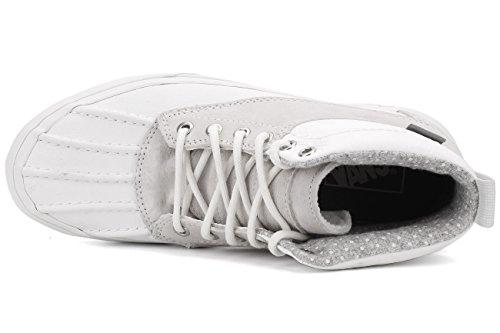 Skåpbilar Unisex Vuxna Sk8-hi Del Pato Mte Scotchgard Mode Skor Blanc De Blanc / Prickar